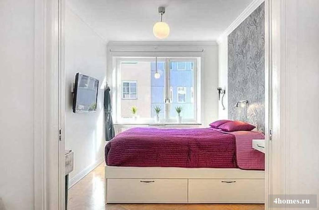 Дизайн маленькой спальни идеи дизайна интерьера от vashdizay.