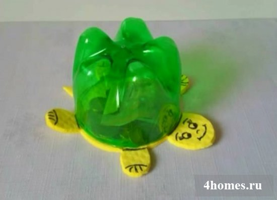 Простые поделки из пластиковых бутылок своими руками