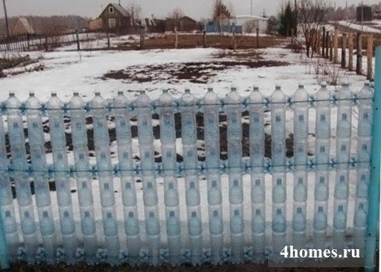 Поделки из пластиковых бутылок своими руками для огорода: как делать