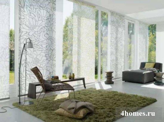 Дизайн штор для гостиной в современном стиле: фото новинки 2017