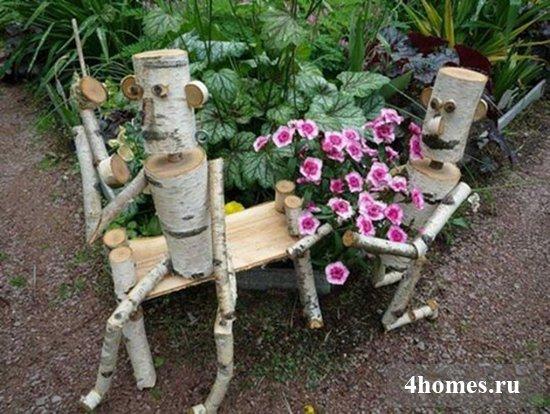 Несложные самоделки для дачи и огорода своими руками