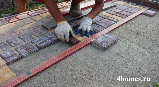 Из чего сделать садовые дорожки своими руками с малыми затратами?