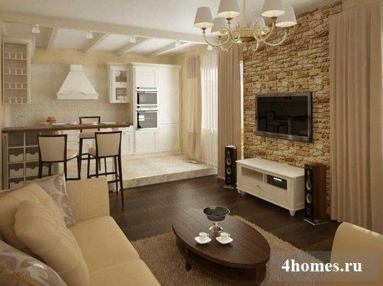 Красивые гостиные в современном стиле (фото)