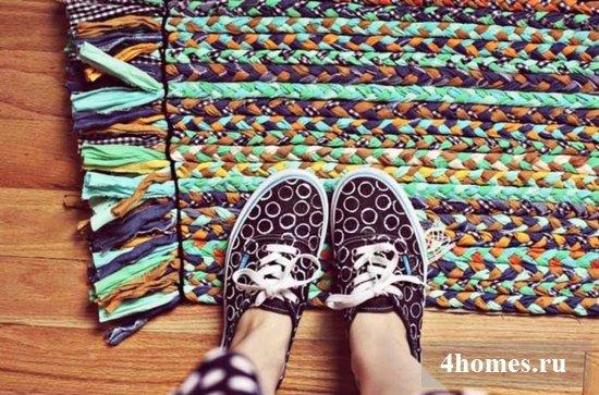 Увлекательное рукоделие для дома – коврики своими рукам ...