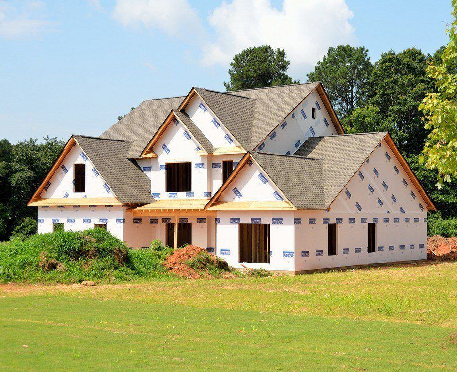 Новый дом построен