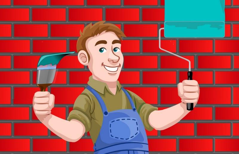 счастливый строитель