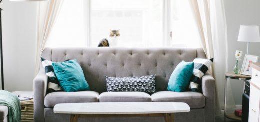 Гостиная с подушками